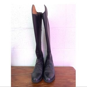 NWOT Mountain Horse Sovereign Field Black Boots